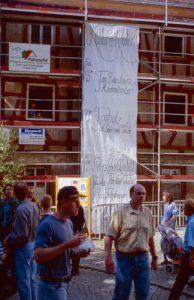 1998-Kloster-Beginn Einweihungsfest