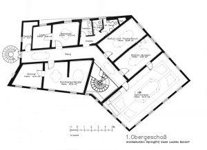 Kloster Erstes Obergeschoss