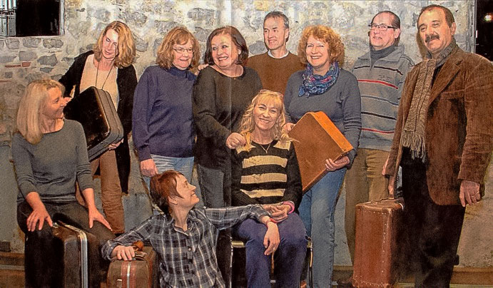 Theater-Team Ankommen in Horb 2015