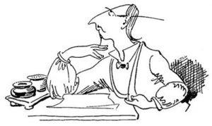 Wilhelm Busch zeichnung